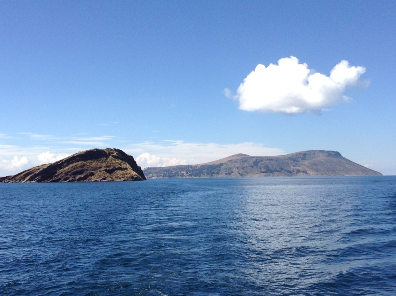 The creation myths of the Incas start at lake Titicaca